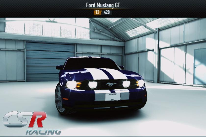 Mobil yang menjadi icon CSR racing. Mustang merupakan mobil American muscle yang memiliki HP(horse Power) yang tinggi dan di dunia asli pasti bensinnya boros banget :-PMobil ini merupakan mobil Tier 2