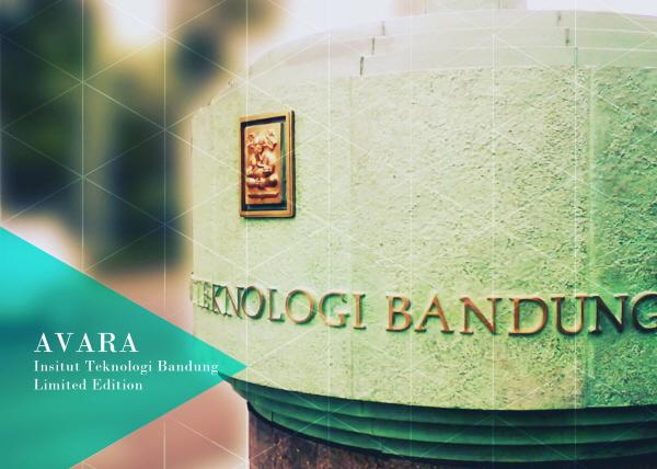 ITB adalah Institut Teknologi Bandung. Salah satu cover untuk edisi ITB