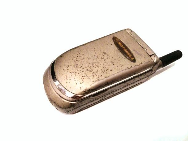 087. Ajaibnya Motorola v3688e!