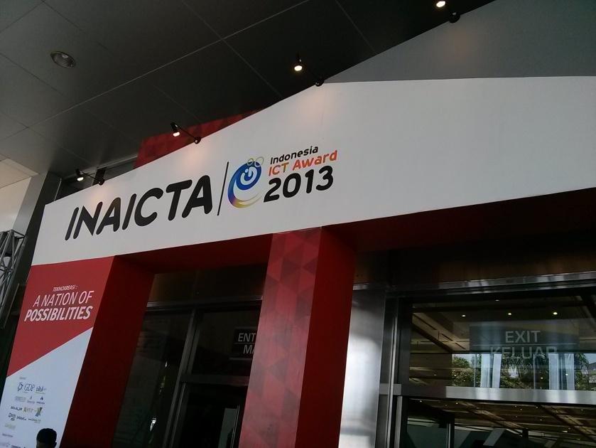 Gerbang INAICTA 2013 di JCC