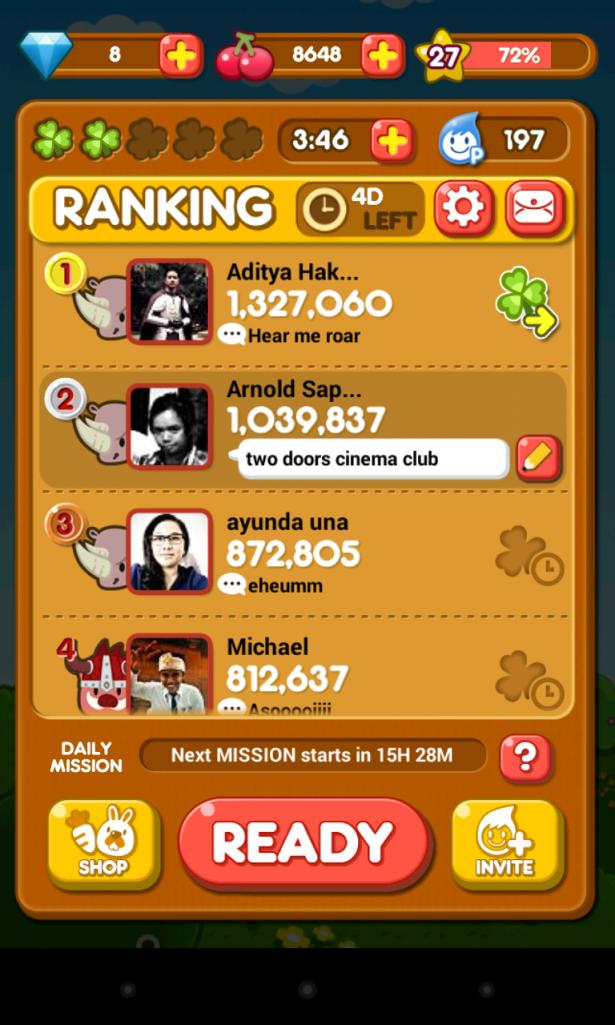 Score Pokopang menembus 1 Juta!