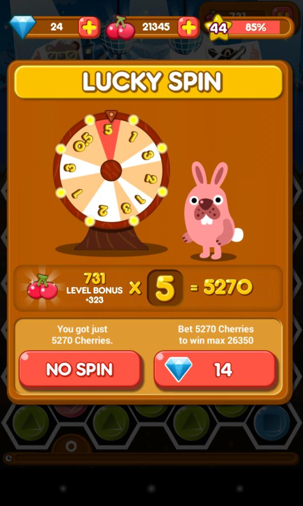 bonus lima kali lipat!