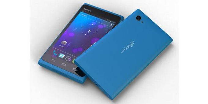 "Ponsel dengan kode nama ""Mountain View"". Nokia dengan OS Android."
