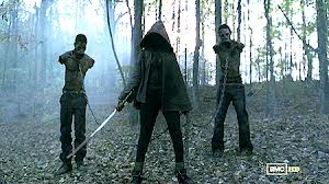 Michonne is in the house!