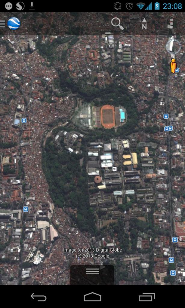 Ini nih bkti dari hutan terakhir di kota Bandung. miris melihatnya. Semoga ITB dan Pemda tetap menajga hutan Babakan Siliwangi ini yah