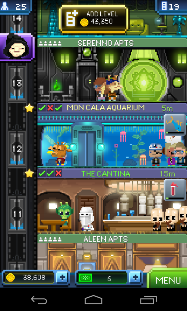 Game Tiny Death Star: Ini nih visualisasi dari pembangunan di Death Star :-)
