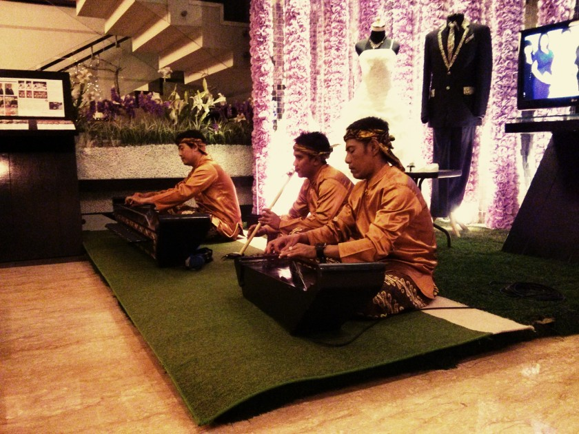 West Java traditional instrumental trio