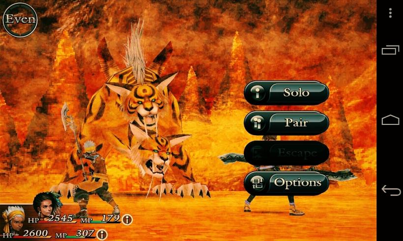 Chaos Rings: battle nya amat sangat mirip dengan Final Fantasy.