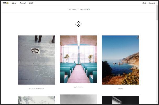 Vsco Grid: Galeri foto yang kayak tumblr,hehehe