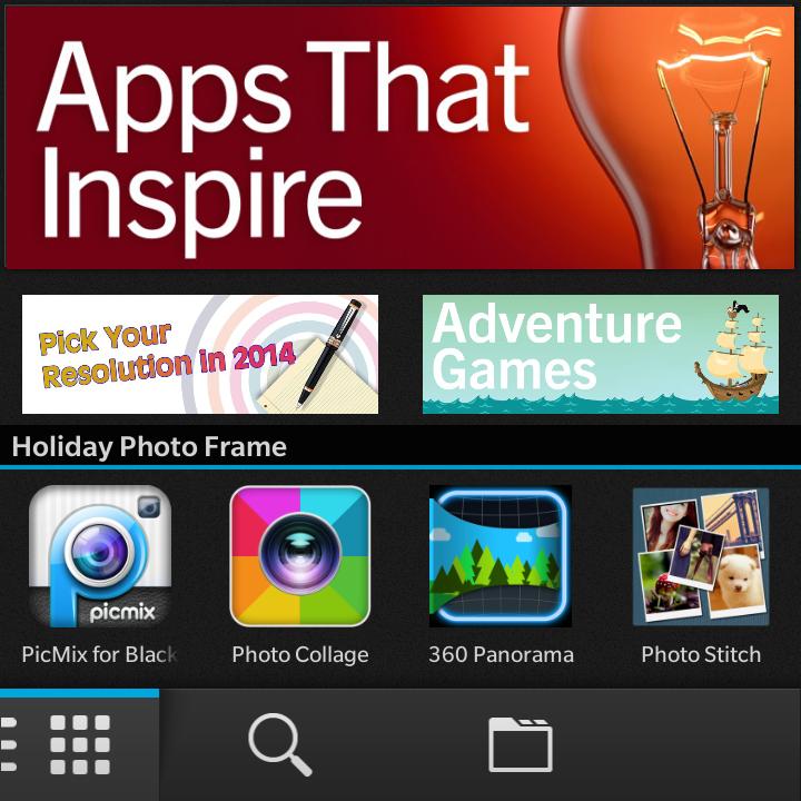 App that inspired in BB world. Kateogri baru di tahun yang baru