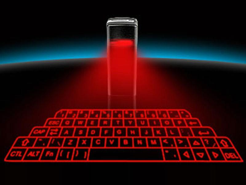 Kenyamanan dalam mengetik: Ini dia keyboard hologram