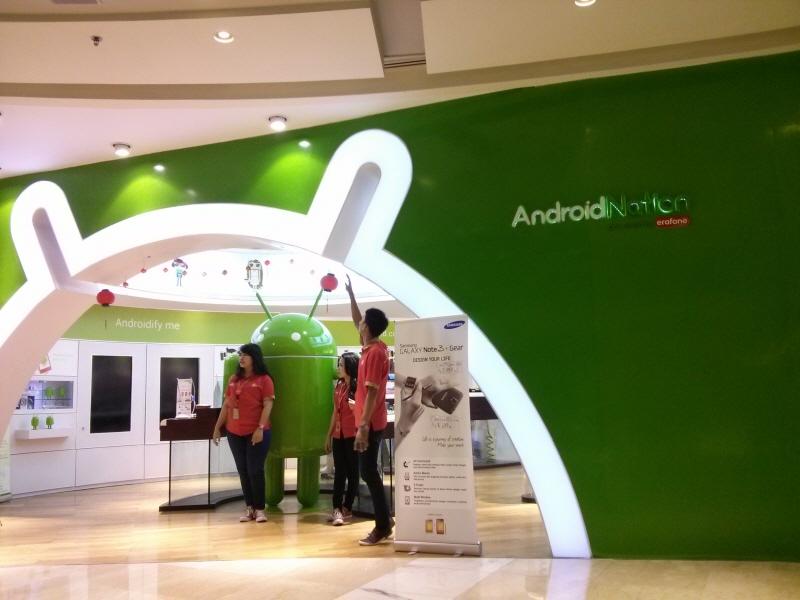 Andorid Nation: Toko yang khusus menjual perangkat Android.