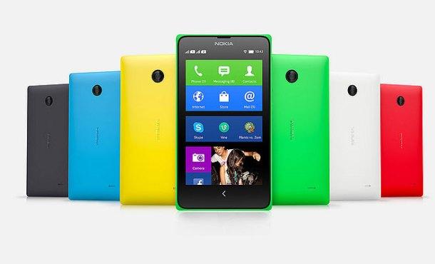 Nasib Nokia X si anak tiri: ini dia nih jajaran HP nokia X yang warna-warni. Keren yak?