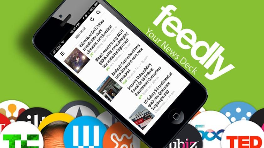 Mencari pengganti Google Currents!: feedly si aoolikasi pembaca RSS reader