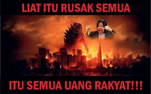 Tiga fase kehidupan Godzilla!