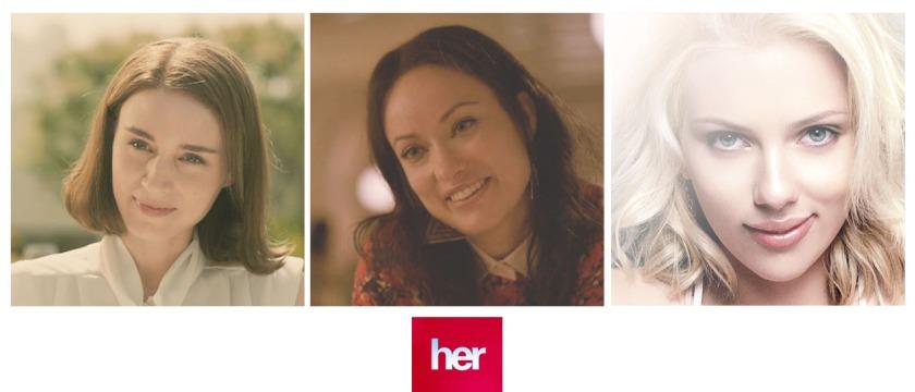The beauty of her: Rooney Mara, Olivia Wilde dan Scarlett Johansson.