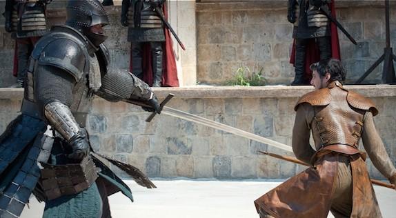 Apa yang Saya pelajari dari Game Of Thrones (GOT) season 4!: Oberyn vs the Mountain.
