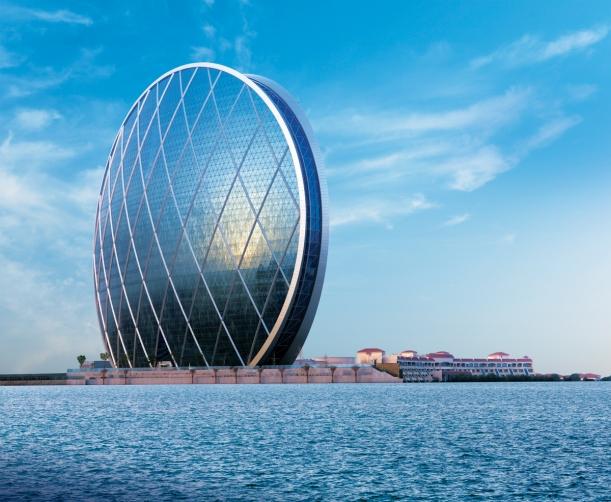 Aldar HQ di Abu Dhabi. Ya, Tuhan~ Kapan yah Indonesia ada gedung kayak gini bagusnya?Semoga makin banyak anak sipil dan Arsiteknya berani bikin gedung se keren ini...