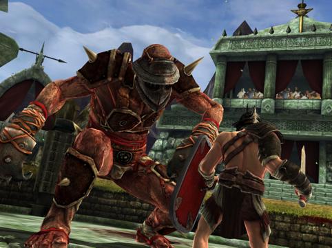 For Blood and Glory! Ini dia nih musuh jenis pertama. Kayaknya susah yah? padahal ini musuh yang paling lamban dan gerakannya gampang ditebak.