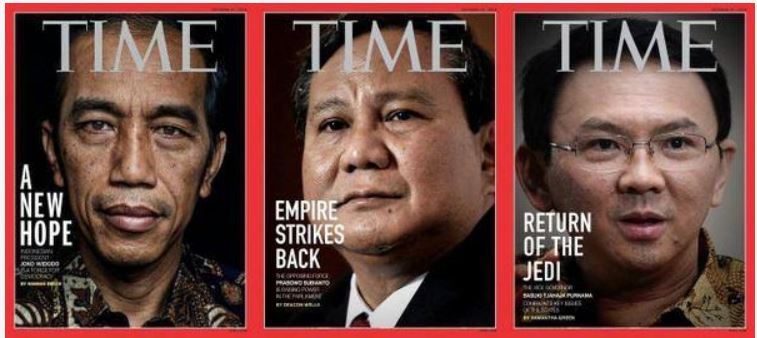 Presiden ke7!: parodi cover majalah Times international