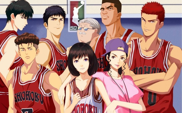 90's is the greatest anime era! slam-dunk