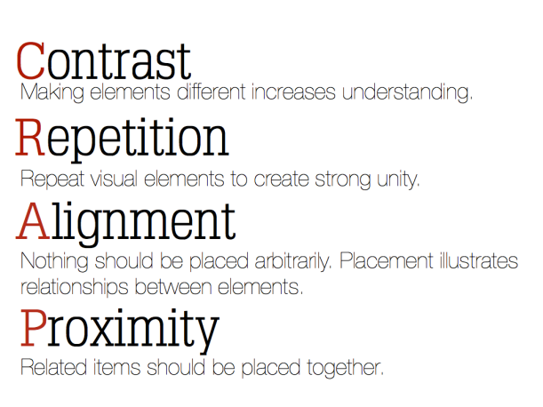 5 Prinsip untuk desain yang lebih baik! C.R.A.P
