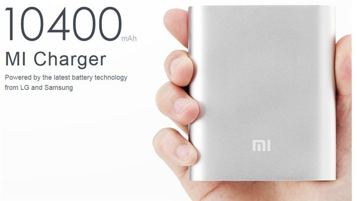 Ketika 2100 MaH tidak mencukupi kebutuhan! Power bank Xiaomi 10400 MaH