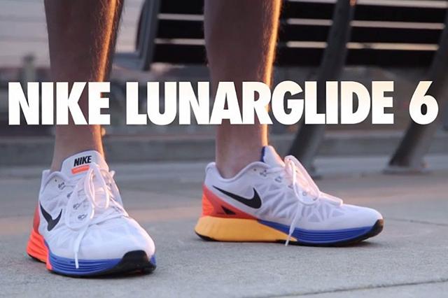 364. Rekomendasi sepatu lari Nike 2014! Lunarglide 6