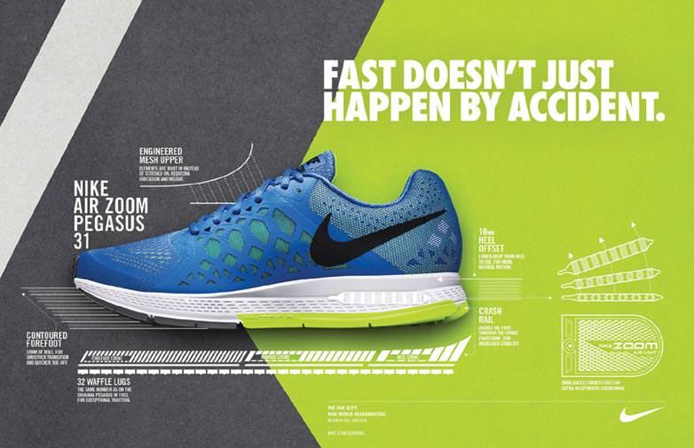 364. Rekomendasi sepatu lari Nike 2014! Air Pegasus 31