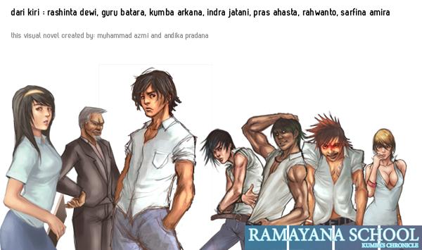 382. Ramayana School: Game bermuatan lokal yang keren! Ini dia penampakan artworknya. Buatan Azmi dan Andika.
