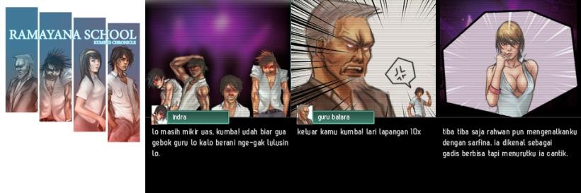 382. Ramayana School: Game bermuatan lokal yang keren! Screenshot gamenya gan! Cerita dan gambarnya sungguh memukau.