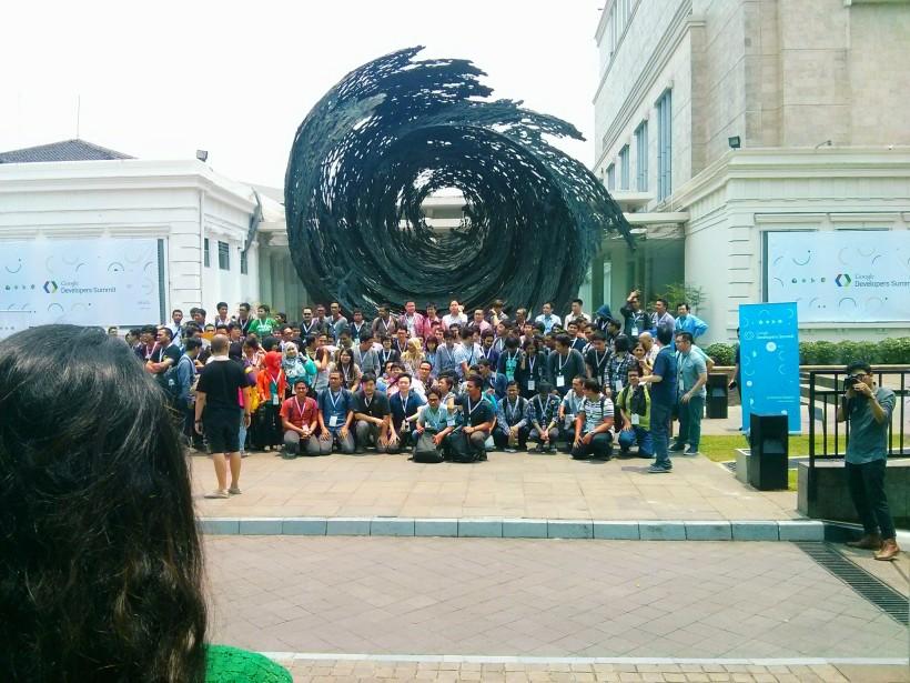 397.Acara Google Developer pertama di Indonesia!
