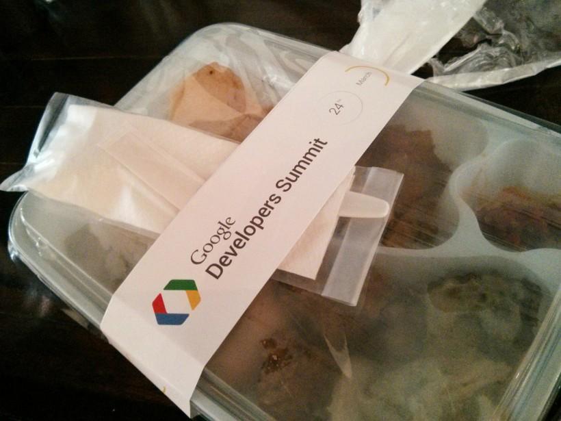 399. Catatan Google Developer Summit: Materi lainnya! Ini dia nih makan siang waktu di Google Developer Summit Indonesia