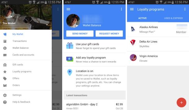 397. Catatan Google Developer Summit: Material Design! Contoh layout dan penyajian warna pada material Design. Dalam hal ini Saya mengambil contoh Google Wallet!