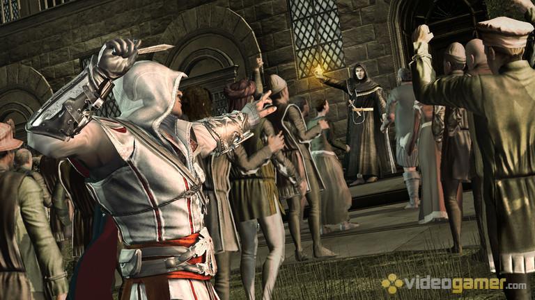 443. Game Assassins Creed terbaik! Ezio dan pisau lemparnya. Senjata yang efektif dan murah. Sayang udah ga ada lagi di serial selanjutnya :-(