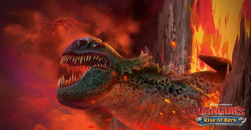 435. Game Design: Dragons Rise of berk dari cinta jadi benci!  Ini dia Green Death