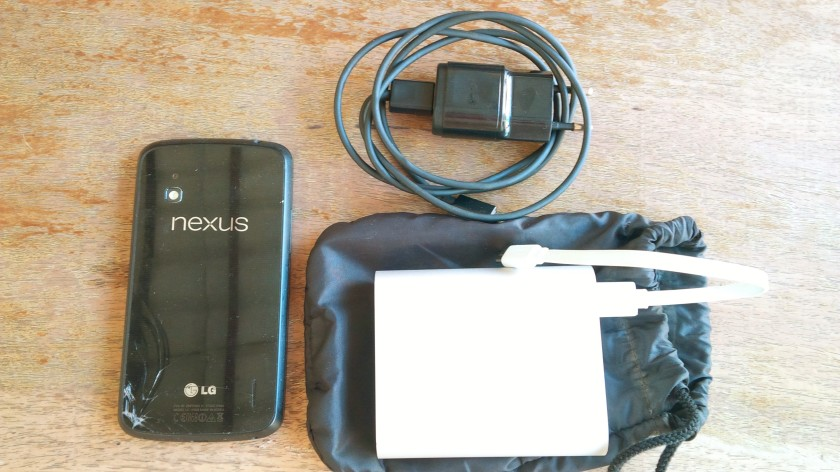 440. Whats Inside my UX Design bag !? Gadget Nexus 4, Charger dan, Powerbank Xiaomi.