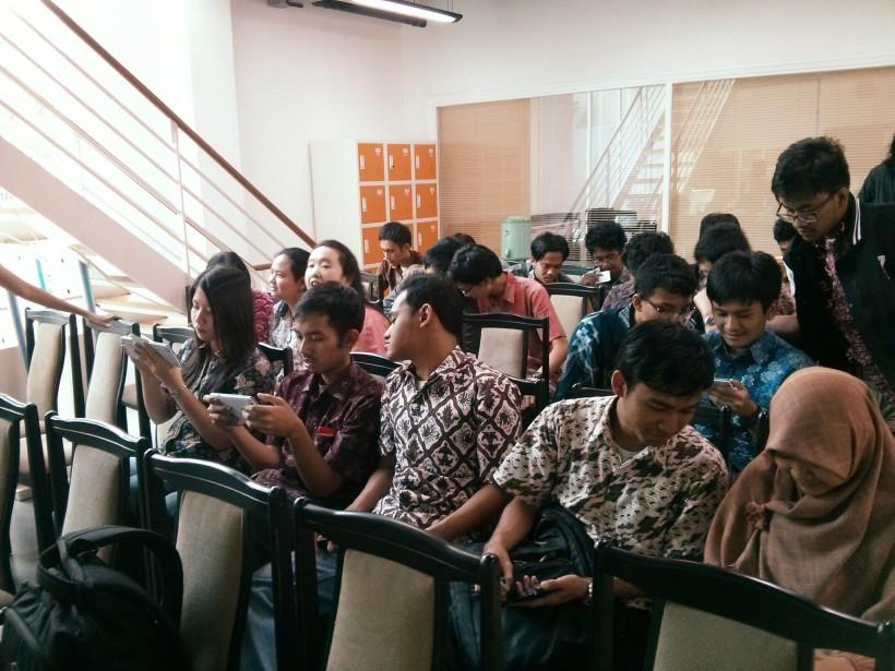 428. Manfaat internship di Startup! Para mahasiswa Universitas Indonesia dan calon intern.