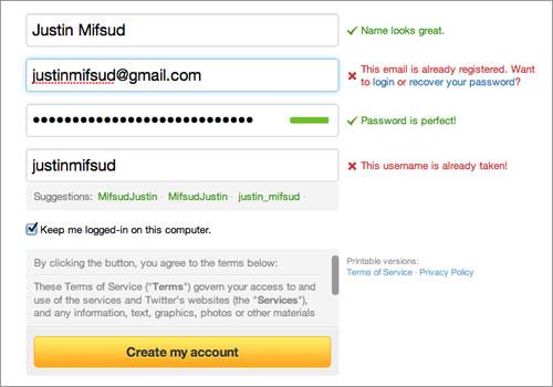 """447.UX design: 5 tips untuk form pengiriman yang lebih baik! Tunjukan salahnya dimana? Tunjukan dan kasih tau juga yah. Jangan cuman tulis """"Nih,salah isi nih formmnya"""". Pengguna kan jadi bingung juga kenapa salah?"""