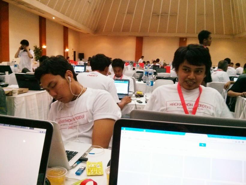 456. 3 Tips menjalani Hackathon! Karena waktu hackathon itu terbatas maka sebisa mungkin jangan sampai tidur