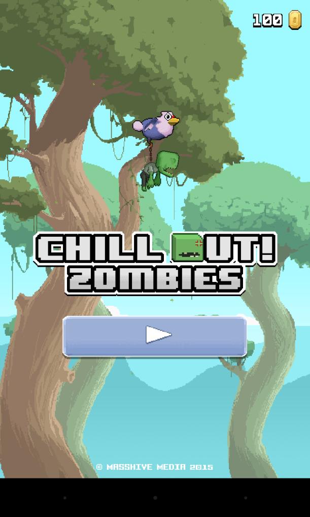 460. Chill Out Zombie Review! Ini dia nih tampilan gamenya. Keren kan?