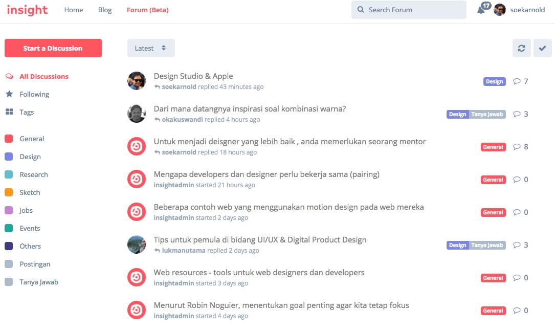 Forum UI desainer dari Indonesia nan Kece Badai